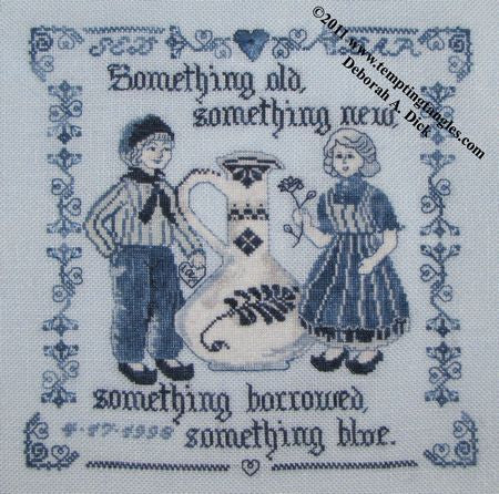 Delft Wedding Sampler