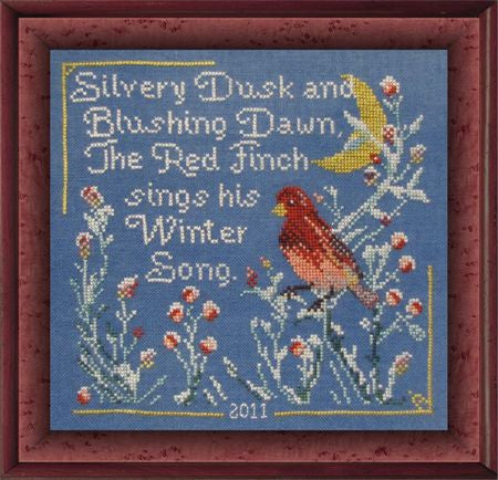 Red Finch's Winter Song