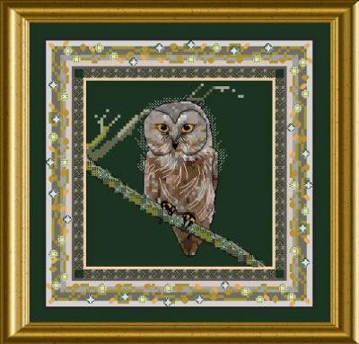Bird Tapestries - Tiny Owl