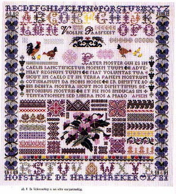 Pansies Sampler