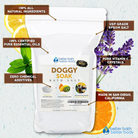 Five Reasons To Give Your Dog An Epsom Salt Bath – Better