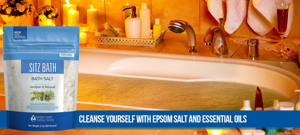 Epsom Bath Salt Lifestyle Blog