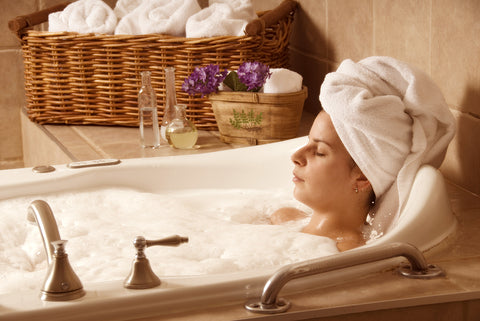 baths are a comfortable and effective way to relieve cramping