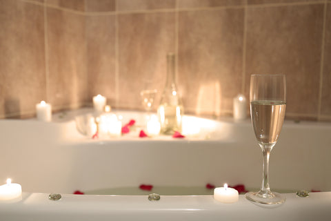 Turning Your Bath Into A Romantic Experience For Two
