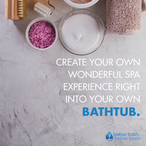 wonderful spa experience own bathtub