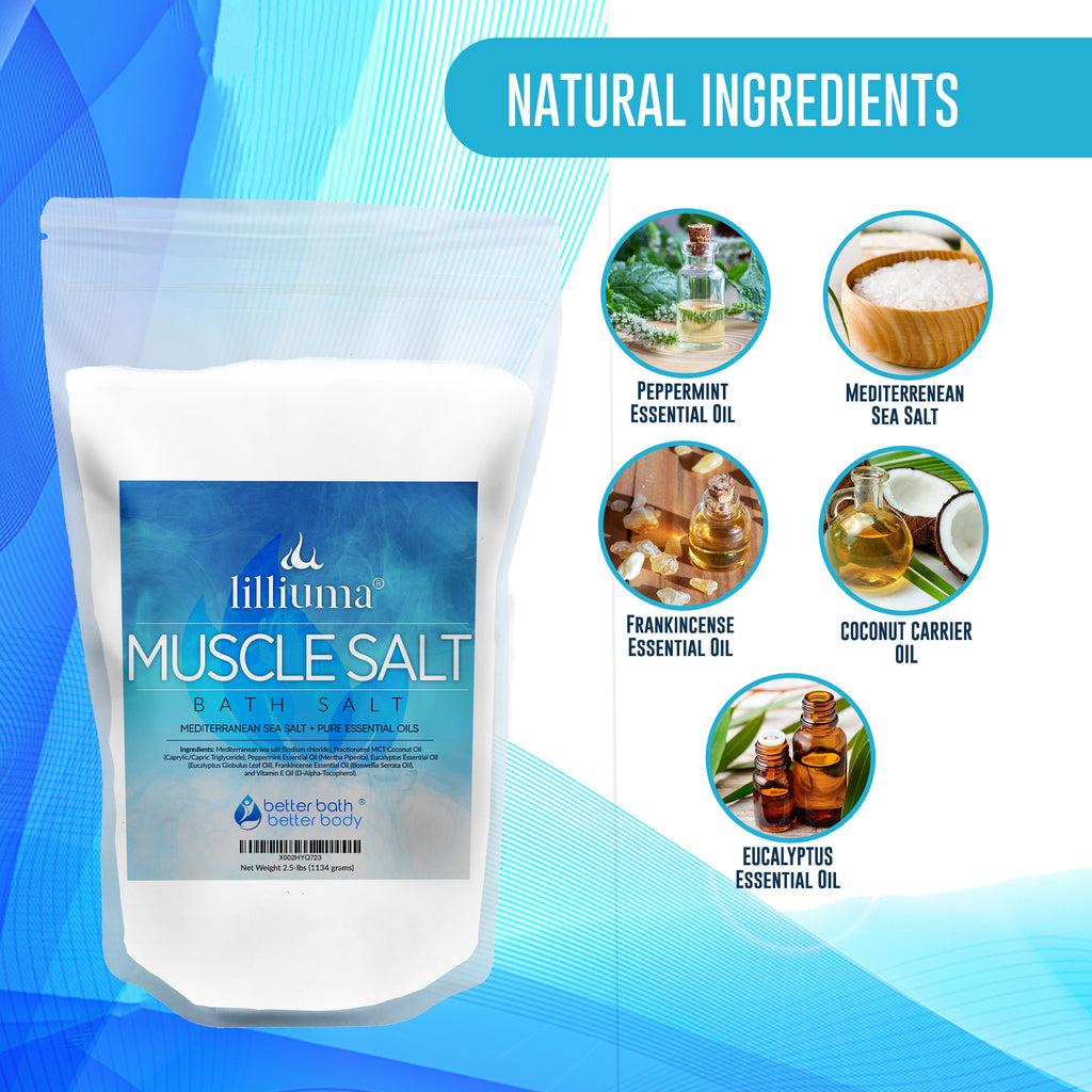 Lilliuma Muscle Soak Bath Salt