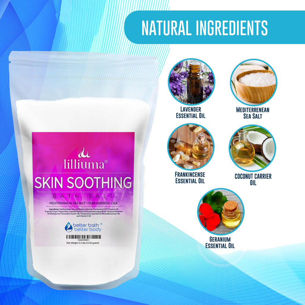 NEW: LILLIUMA SKIN SOOTHING BATH SALT