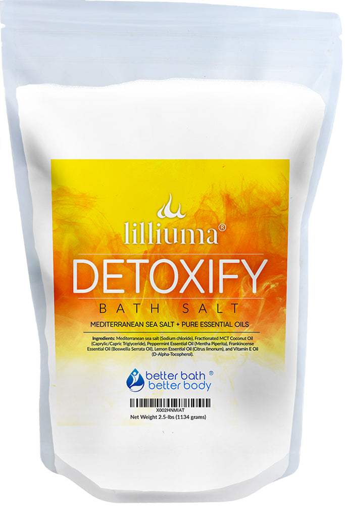 NEW: LILLIUMA DETOXIFY BATH SALT