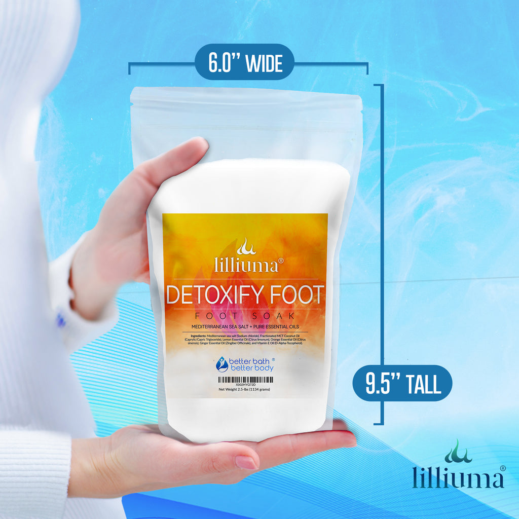NEW: LILLIUMA DETOXIFY FOOT SALT