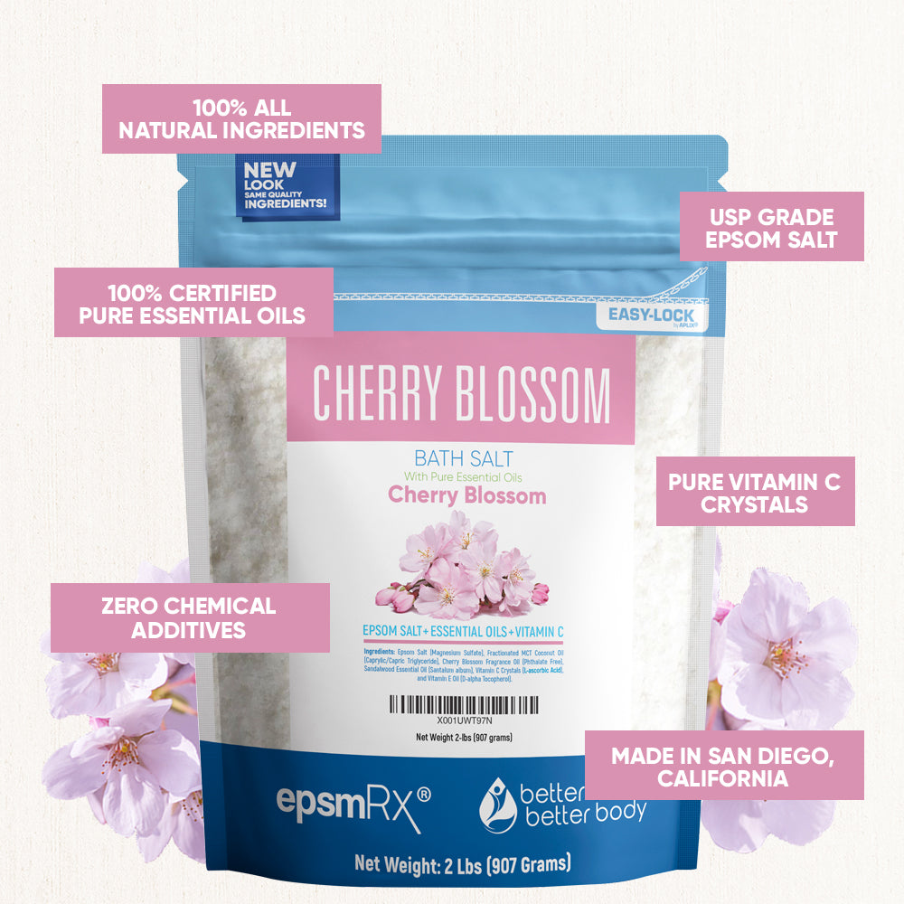 Cherry Blossom Bath Soak
