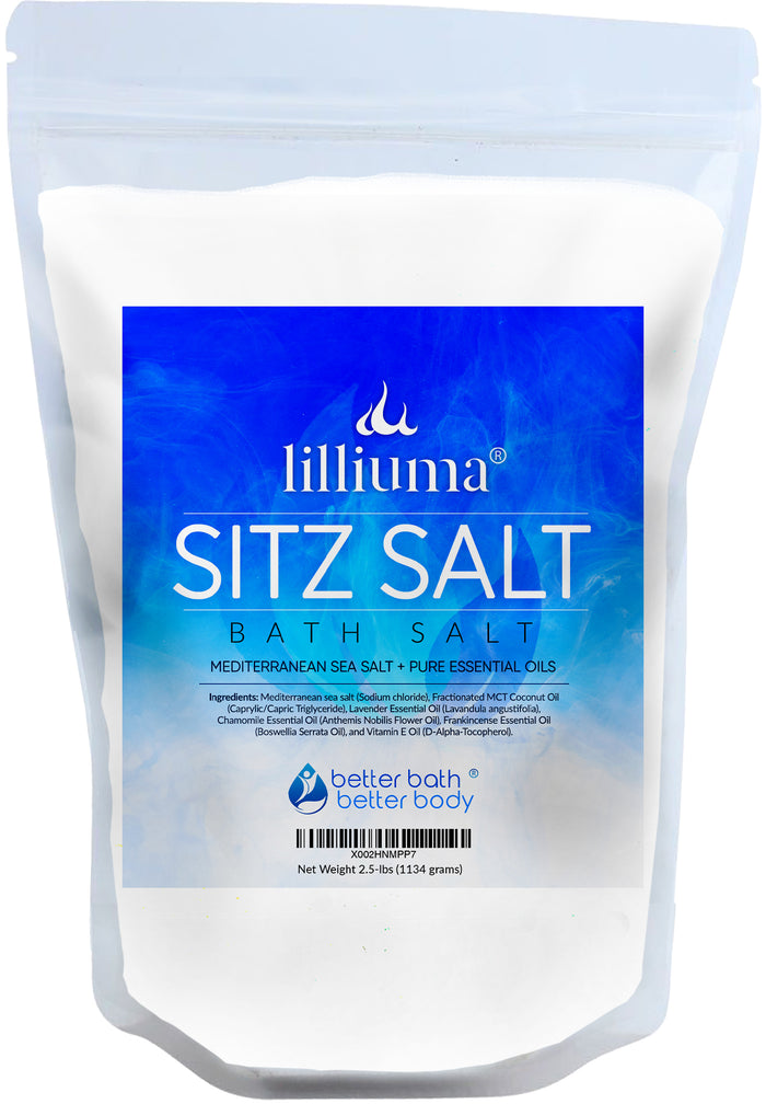 NEW: LILLIUMA SITZ BATH SALT
