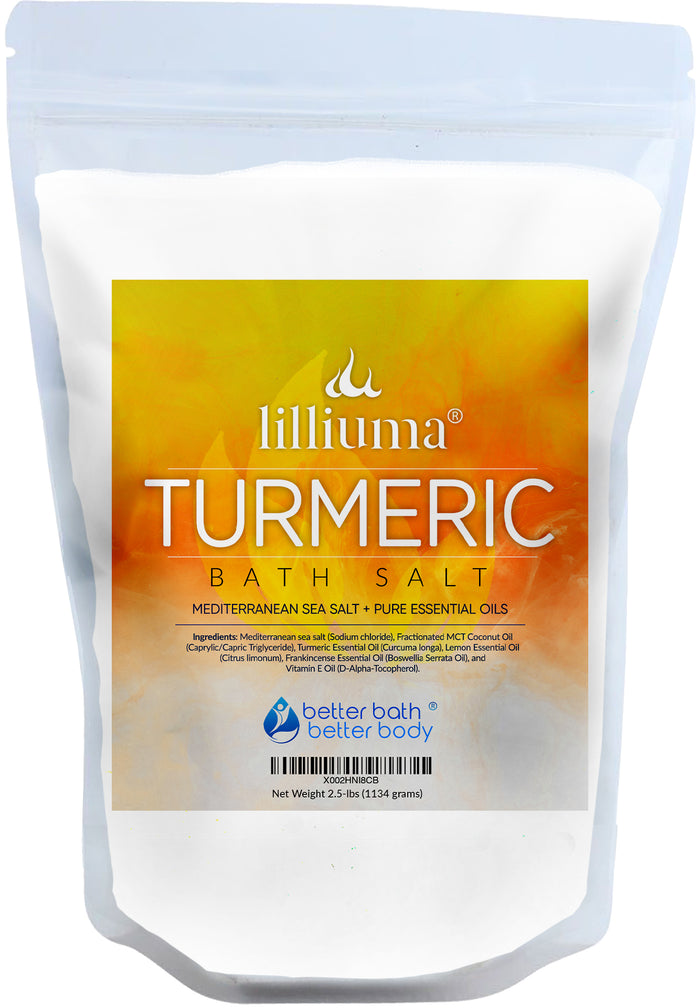 NEW: LILLIUMA TURMERIC BATH SALT