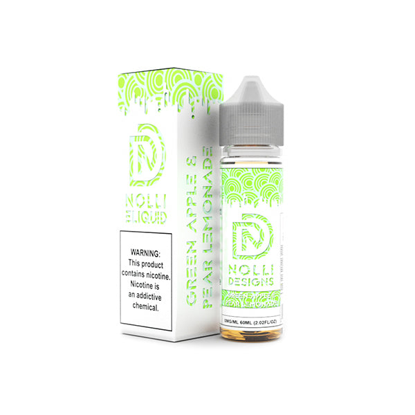 Nolli Eliquid Green Apple & Pear Lemonade SOLD OUT 10/05/18