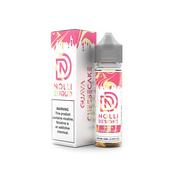 Nolli Eliquid Guava Cheesecake *NEW*