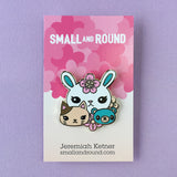Bunny Friends - Hard Enamel Pin
