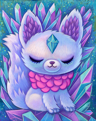 Crystal Fox - Fine Art Print