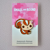 Happy Squirrel - Hard Enamel Pin