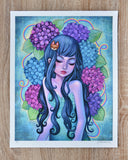 Hydrangea Love - Limited Edition Print