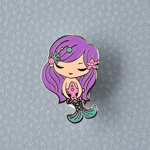 Mermaid - Hard Enamel Pin