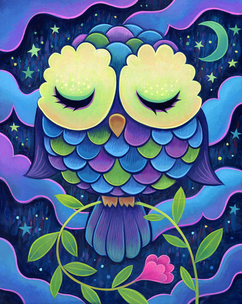 Midnight Owl - Fine Art Print