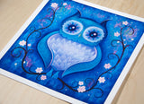 Night Owl - Fine Art Print