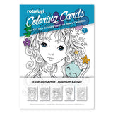 Coloring Card Set