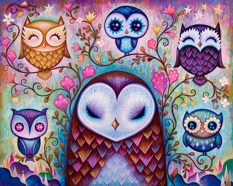 The Great Big Owl - Fine Art Print