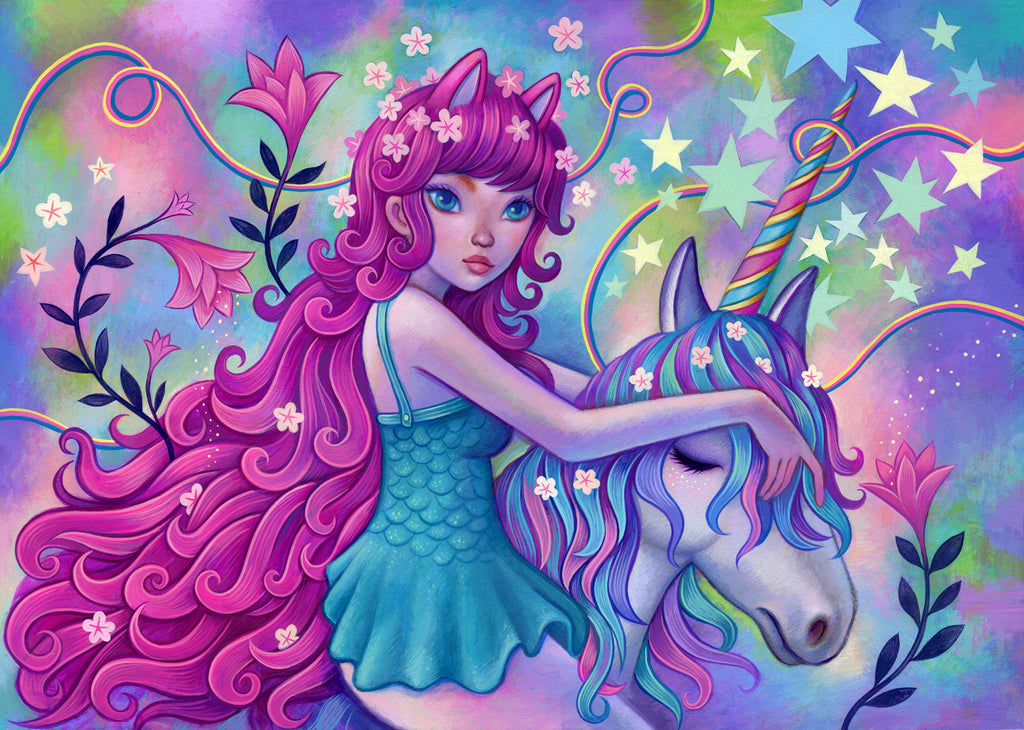 Unicorn Ride - Fine Art Print