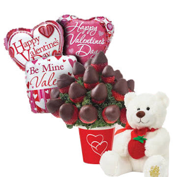 Valentine's Decadent Berry Bundle