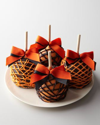 Halloween Chocolate Caramel Apples