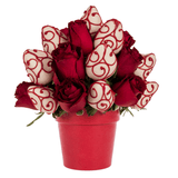 Berry Deluxe Red Rose Tower (48 HOUR ADVANCE ORDER NOTICE)