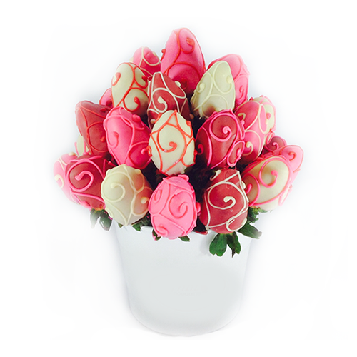pretty in pink bouquet