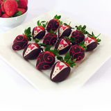 Chocolate Berry Roses