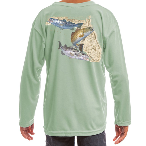 Kids Fishing Shirts