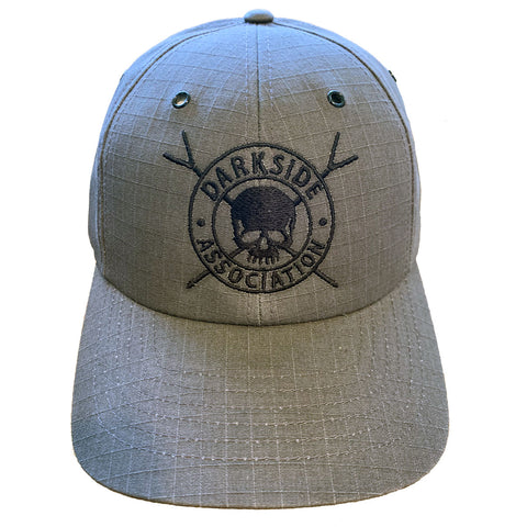 Richardson Ripstop Cap Metal Grommets Darkside Association Hat - Skiff Life