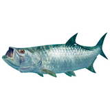 Tarpon Sticker By Randy McGovern - Skiff Life