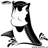 Skiff Life Air Tarpon Vinyl Car Decal Stickers - Skiff Life - We Fish Skinny Water! - 7