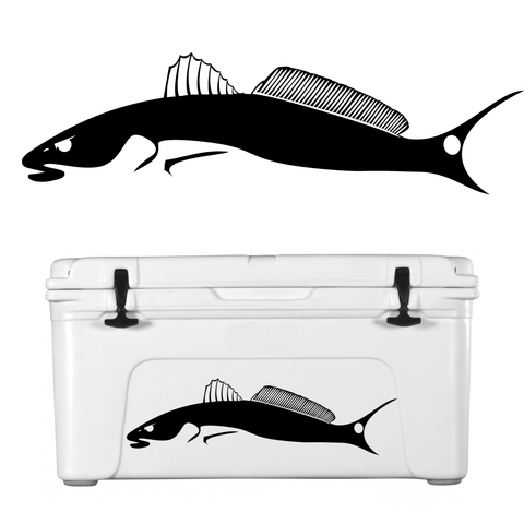 Redfish Decal Tailchaser - Skiff Life