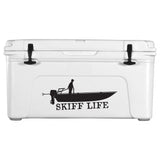 Skiff Life Grab Rail Skiff Car Decal Boat Stickers - Skiff Life - We Fish Skinny Water! - 3