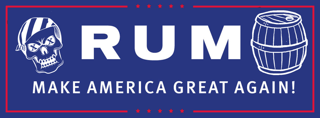 tRUMp - Make America Great Again Decal Stickers - Skiff Life