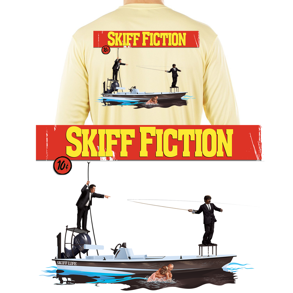 Skiff Fiction Fishing Shirt - Skiff Life