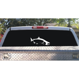 Skiff Life King (Chinook) Salmon Car Decal Stickers in Black or White - Skiff Life - We Fish Skinny Water! - 4