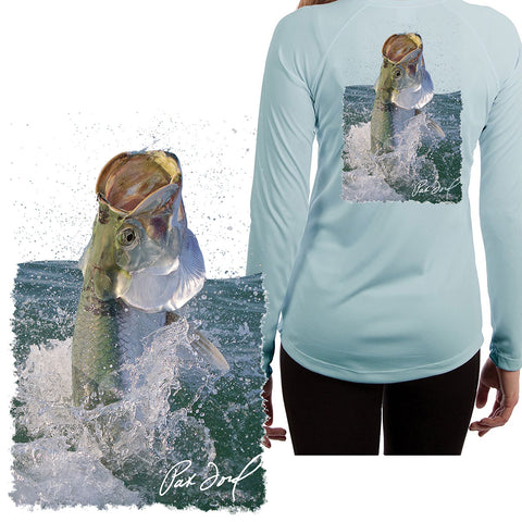 Women's Pat Ford Tarpon Rising Fishing Shirt - Skiff Life