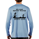 Skiff Life Performance Inshore Flats Fishing Shirt with Poling Skiff