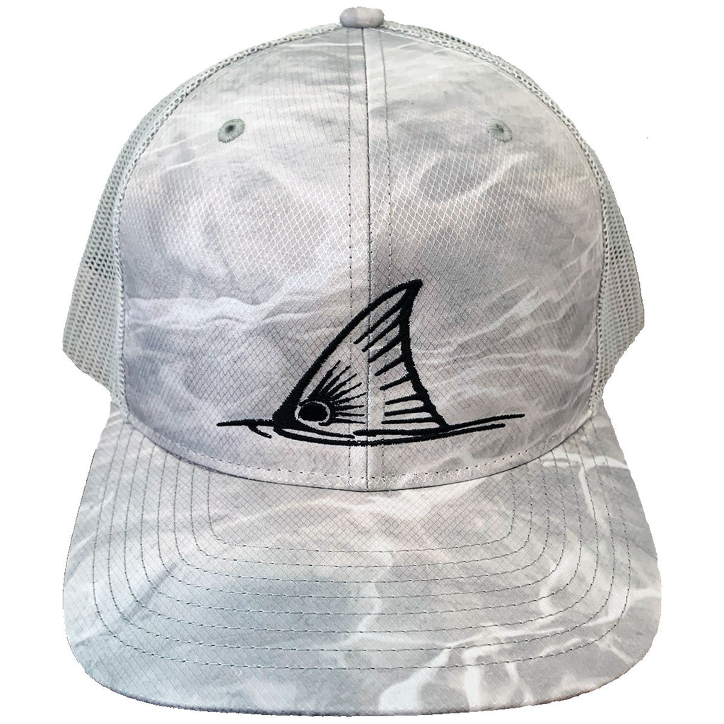 Mossy Oak Bonefish Camo Meshback Trucker Hats Redfish Tail