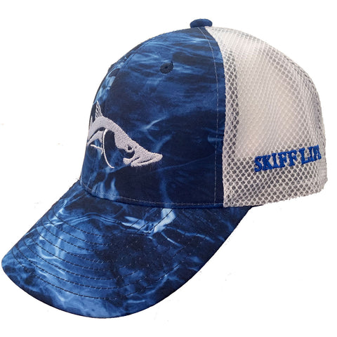 Mossy Oak Marlin Camo Meshback Trucker Hats Snook
