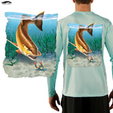 Redfish Fishing Shirt Last Stand Blue Crab - Skiff Life