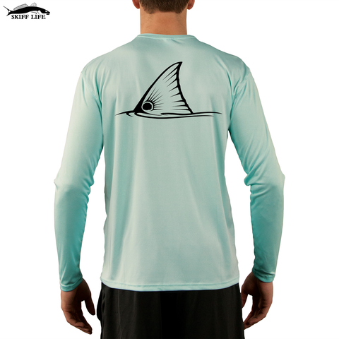 Limited Inventory Sale-Tailing Redfish Apparel Fishing Shirt on Sale - Skiff Life