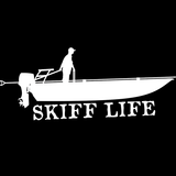 Skiff Life Grab Rail Skiff Car Decal Boat Stickers - Skiff Life - We Fish Skinny Water! - 6
