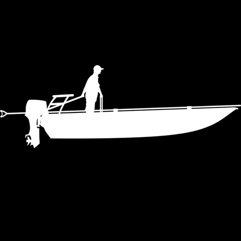 Tiller Skiff Decal Sticker by Skiff Life - Decals Stickers - Skiff Life